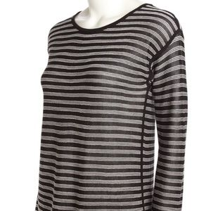 NWOT! T BY ALEXANDER WANG Woven Striped Sweater